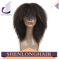 Yaki Style Synthetic Wig Synthetic Wig Supplier Customized Wig