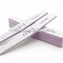 Factory price OEM ODM emery sanding paper mini match book nail file for salon use