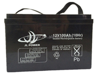 Strong Temperature Adaptability 12V100AH deep cycle battery made in china