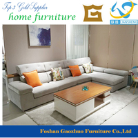 high quality popular modern design fabrci living room L Sofa Set for Sale