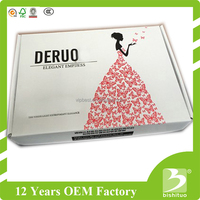 corrugated paper box for transportation and cardboard box with custom logo printed