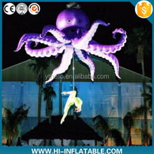 Attractive Performance inflatable tentacle octopus jellyfish costume decoration for stage party club decoration