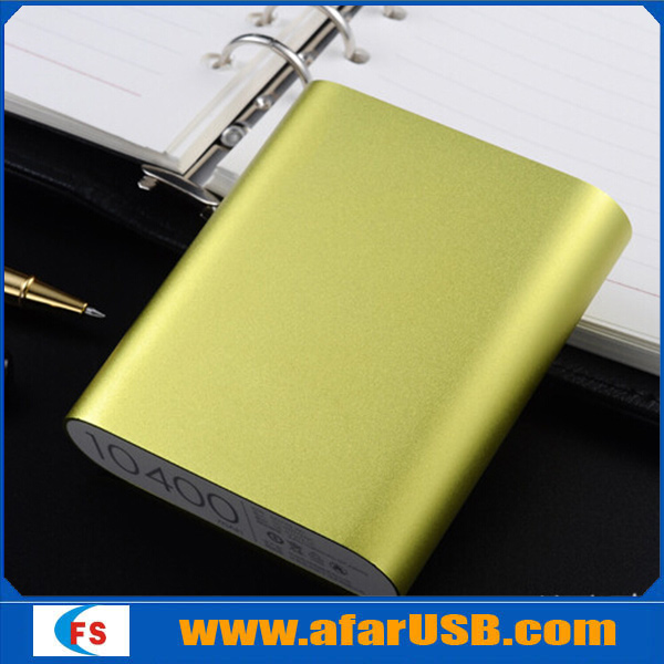 Best price original quality Brand Lithium Ion Battery 10400 mAh power bank,new mobile phone power bank for smartphone