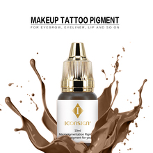 Easy coloring tattoo ink and microblading pigment for permanent makeup