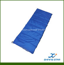 Hollow fiber envelope indoor /outdoor/camping sleeping bag