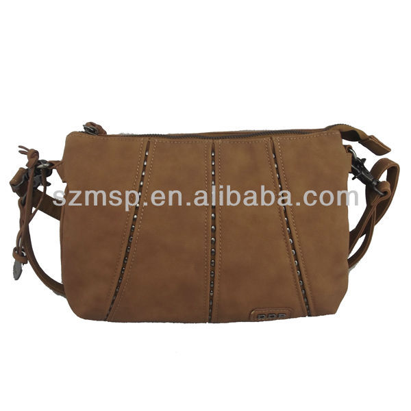 Fashion high quality but not expensive pu shoulder bag
