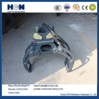 HCN brand HN14 series HN14 hydraulic wood grapple