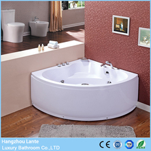 OEM service small size mini whirlpool bathtub with seat