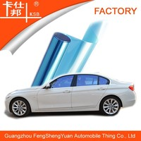 Chameleon car window tint,blue film,screen protection
