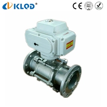 2 Way Electric Water Air Gas 16 Bar 4 Inch Stainless Steel Ball Valve