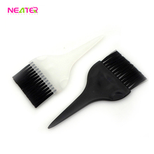 plastic hair dying comb hair dye brush and hair tint comb