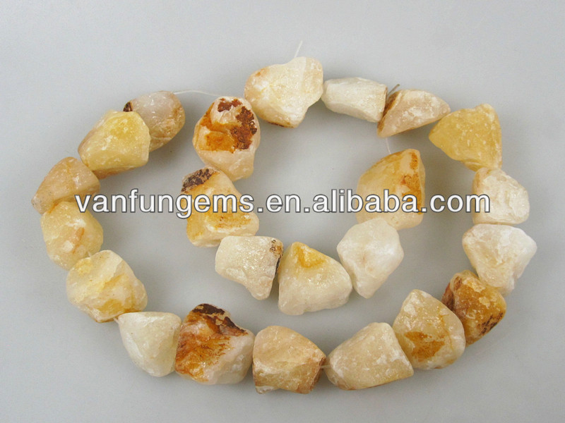 wholesale Spring Yellow Jade rough stone in loose gemstone