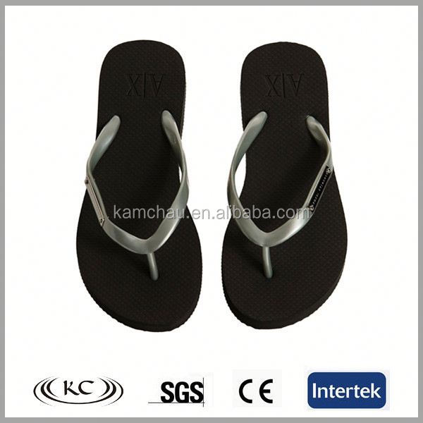 trendy china wholesale sliver straps rubber flip flops kids