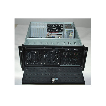 4U 15 bays industry rackmount chassisi with big storage server case hot sale