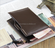 2016 Brands Smart Small Good Quality PU leather Wallet For Men