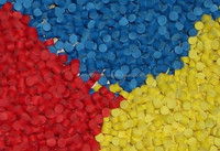 Recycled HDPE plastic raw materials, injection grade granules