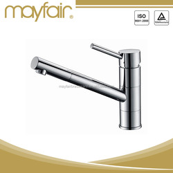 High Flow High Water single handle brushed kitchen water tap mixer faucet