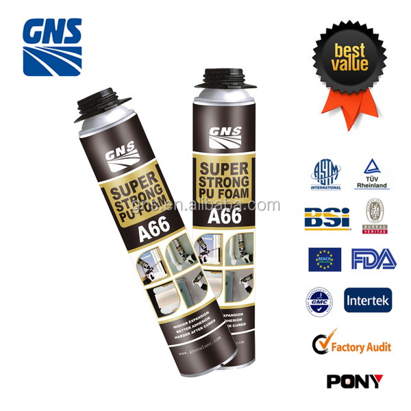 High quality construction polyurethane foam sealant