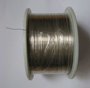 0.30mm round high purity nickel wire heating wire Non resistive wire