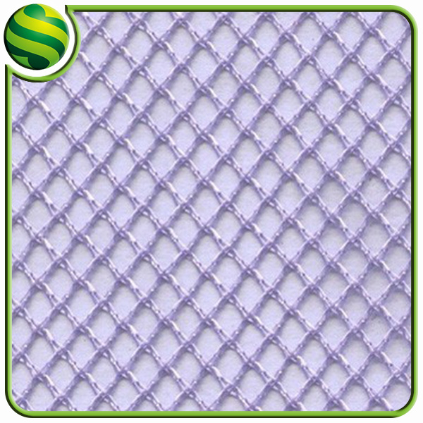 100 Polyester Heavy Duty Tricot Big Hole Water Proof Mesh Fabric For Laundry Bag