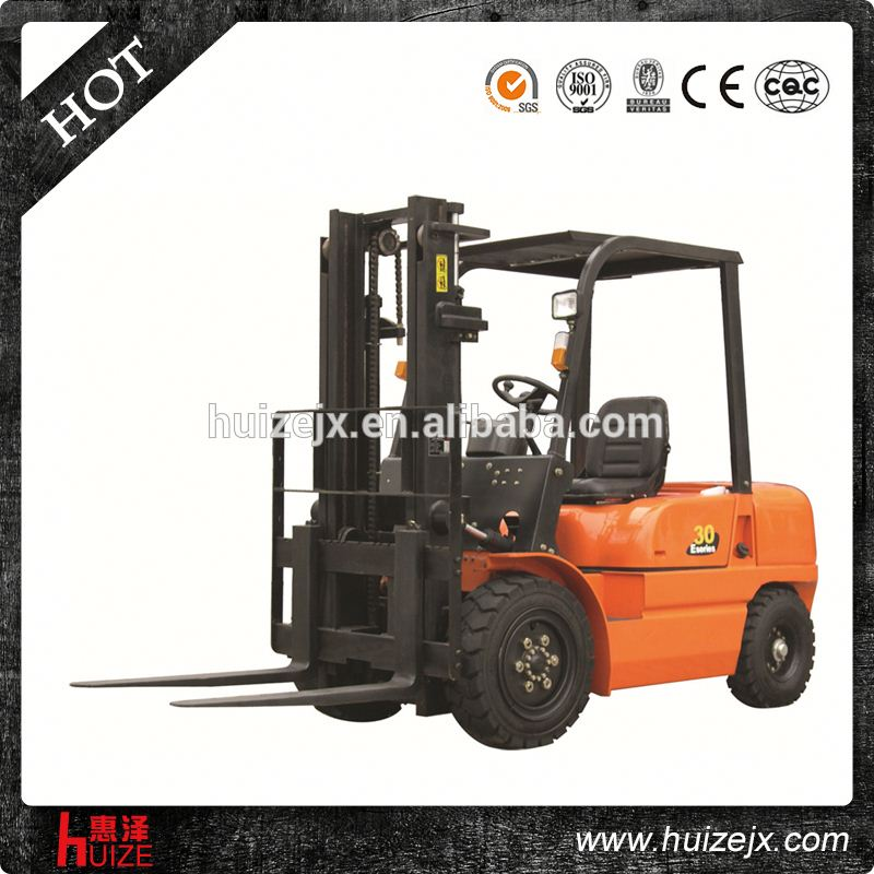 Chinese 3 t forklift truck electric control/big sale forklift