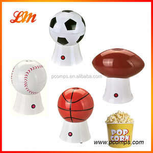rugby ball for mini Electric popcorn machine