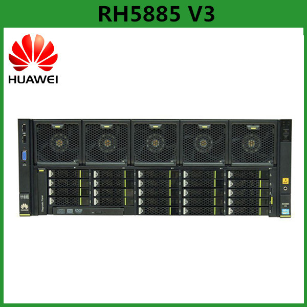 Huawei RH5885 V3 Four-Socket Rack Server Supports Intel Xeon E7 v2 or v3 Series Processors