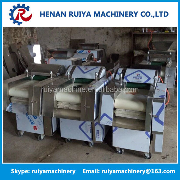 poultry cutting machine/poultry dicer/poultry cutter