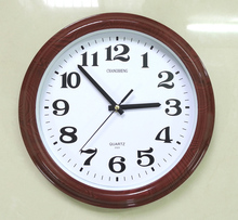Rational Construction Sticker Light Led Wall Round Clock