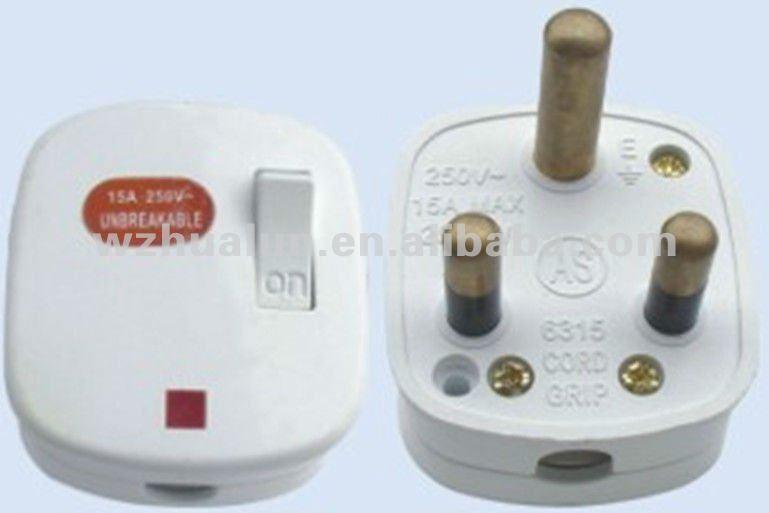 Inde plug adaptateur plat prises lectriques 3 pino prise lectrique prises douilles - Prise electrique inde ...