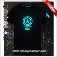make led t shirt/programmable led t shirt/flash t-shirt