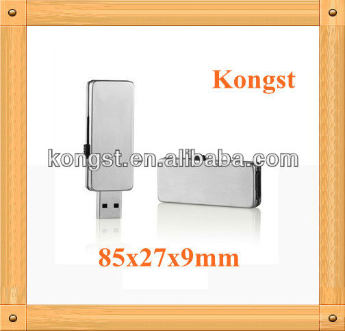 USB Flash drive USB2.0 Metal Integrated Waterproof Design good gift