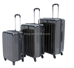 THINGO 100% PC Material 3PCS Trolley Travel Luggage