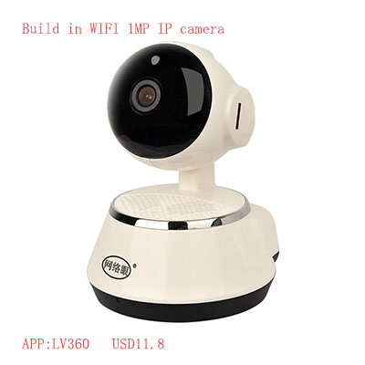Hot Sell Cheap 720P wfi ip camera baby monitor 1 MP IP Camera,64G Storage ONVIF H.264 full hd 720P Home Security WIFI ip cctv ca