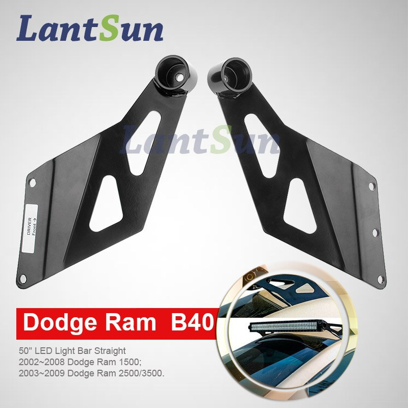 "Hot Selling Super Quality New Product Dodge Ram 3500 Light Bar Brackets for 50"" led light bar"