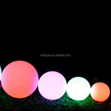 20-60cm hot sale waterproof B300-03 led light bowling ball