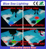 Light lumiere weight led dance floor for disco interactive pohot