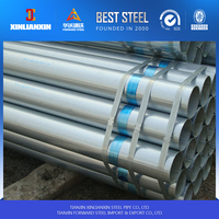 ASTM A53 Best Selling galvanized pipe size chart High Quality pre galvanized pipe