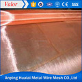 2017 hot sale 15m to 100m roll red copper mesh with ISO CE approved (at cheaper price)