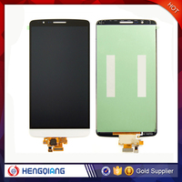 Wholesale Cell Phone Spare Parts LCD Display LCD Touch Glass Screen Digitizer With Frame For LG G3