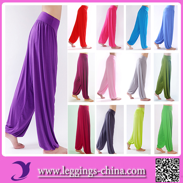 2016 YY901 Hot Sell High Quality Bloused Knickers Yoga Harem Pants