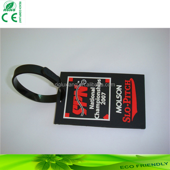 Newest Custom Luggage Tags/Luggage Tags attached with transparent loop