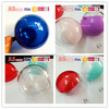 Cute Packing Plastic Clear Round Shaped