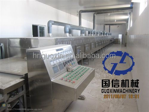 High quality carrot microwave dryer
