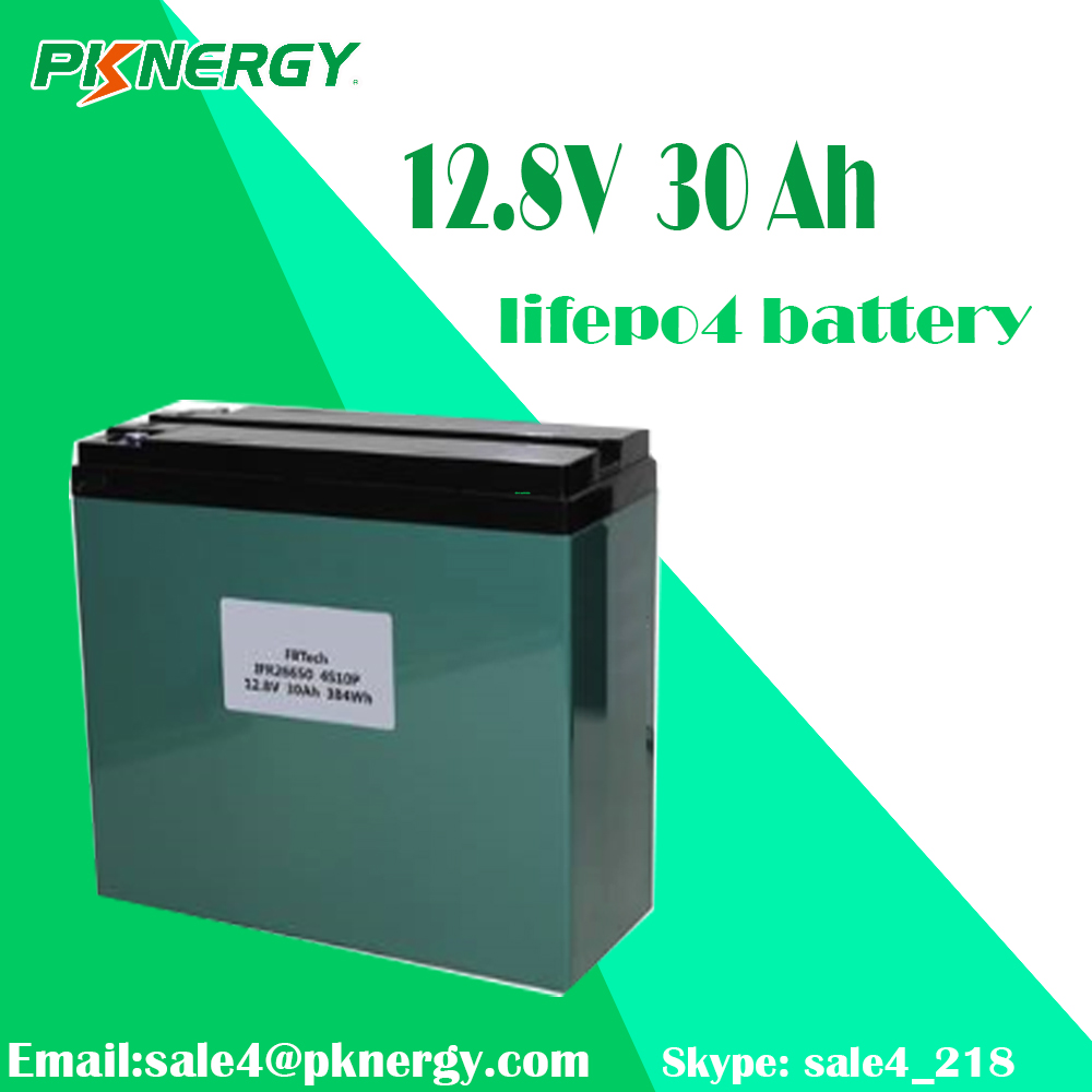 Factory Price PKCELL 4S10P 12V30Ah lithium lifepo4 battery pack