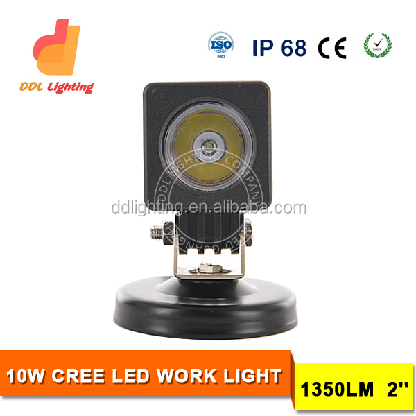 HOT SALE!10 watt led work light,jeep wrangler led light black,4x4 accessories