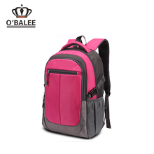 BSCI SEDEX Pillar 4 really factory waterproof 600D nylon personalized school bag for university students