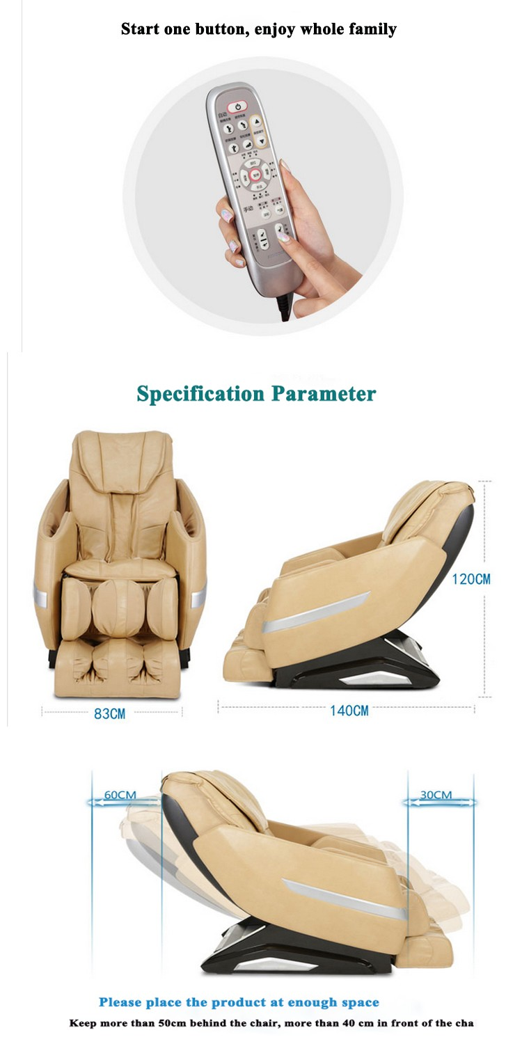 Hot sale Luxury Professional Living Room Medical Massage Chairs RT6162