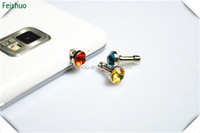 Low price most popular for iphone ipad diamond dust plug