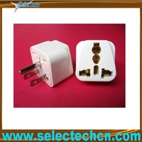 Hotsale universal to japan us eur plug adapter with ground pin SE-UA5
